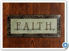 Sign - FAITH